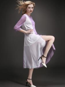 EAACPP女装时尚休闲连衣裙