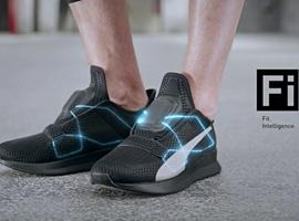 对标耐克,彪马也推出了一款自绑鞋带休闲鞋