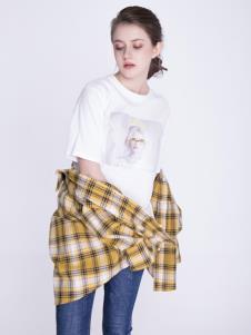 OUYUE欧玥2019新款格子衬衫