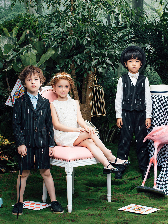 RBIGX瑞比克新款童装套装