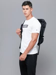 camel active男装白色简约T恤