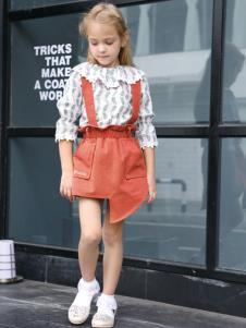 2019芭乐兔女童裙装两件套