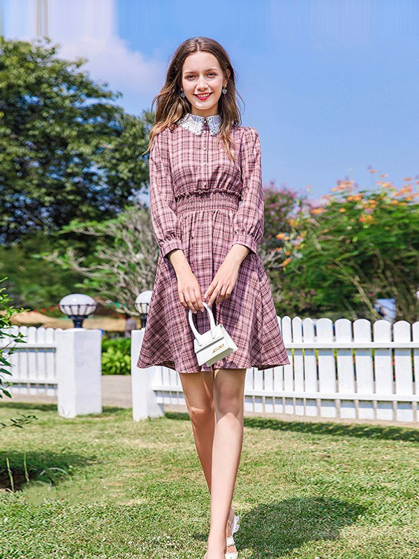 减龄风连衣裙有哪些 春美多新款春装让你无惧年龄