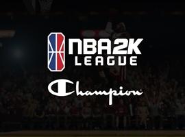 Champion成NBA 2K联赛官方服装赞助商