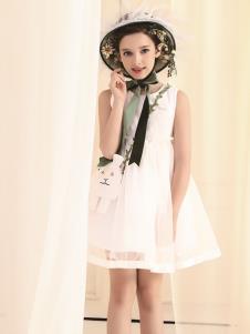 巴柯拉童装夏季新款女裙
