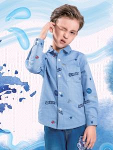 水孩儿男童衬衫
