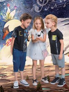 水孩儿童装2019新款