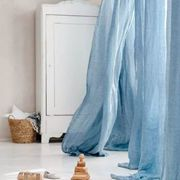新申亚麻大师 | 暖洋洋的春季,当然要亚麻窗帘相伴。