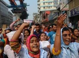 孟加拉服装工人罢工事件导致11000人被解雇!