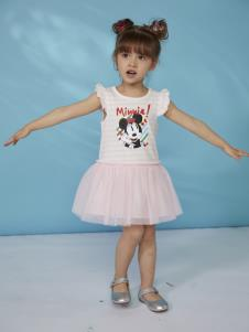 迪士尼宝宝女小童连衣裙