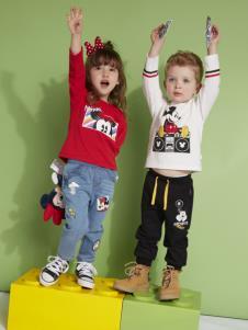 迪士尼宝宝童装卫衣套装