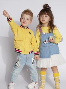 迪士尼宝宝童装春装套装