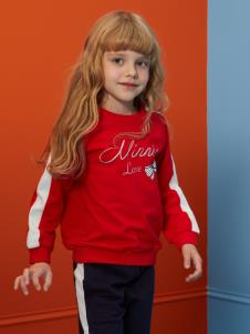迪士尼宝宝童装女童卫衣