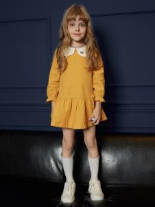迪士尼宝宝童装女童连衣裙