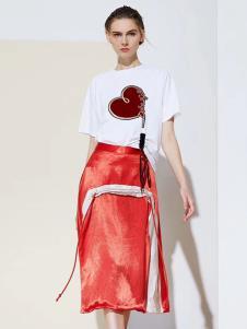 尚迪女装S&D女装春夏新款半裙