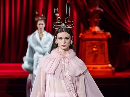 Dolce & Gabbana米兰大秀 亚洲人面孔越来越少
