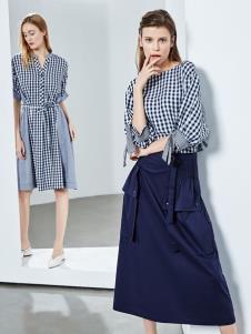 2019ECA女装文艺时尚套装裙