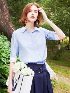 2019樊羽女装衬衫新款