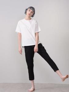 CHEN ZHAN.尘辗白色T恤