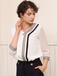 betu百图女装新款时尚衬衫