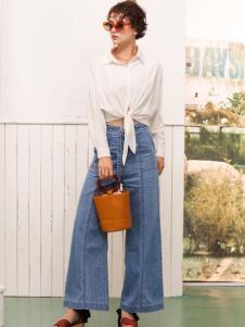 betu百图女装时髦牛仔裤