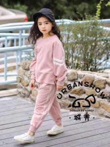 2019城秀女大童春休闲套装