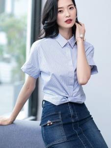 2019优衣美女装新款衬衫