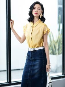 2019优衣美女装知性简约套装