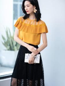 2019优衣美新款甜美套装裙