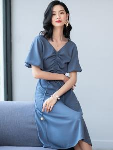 2019优衣美女装优雅连衣裙