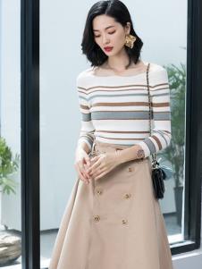 2019优衣美女装春新款套装裙