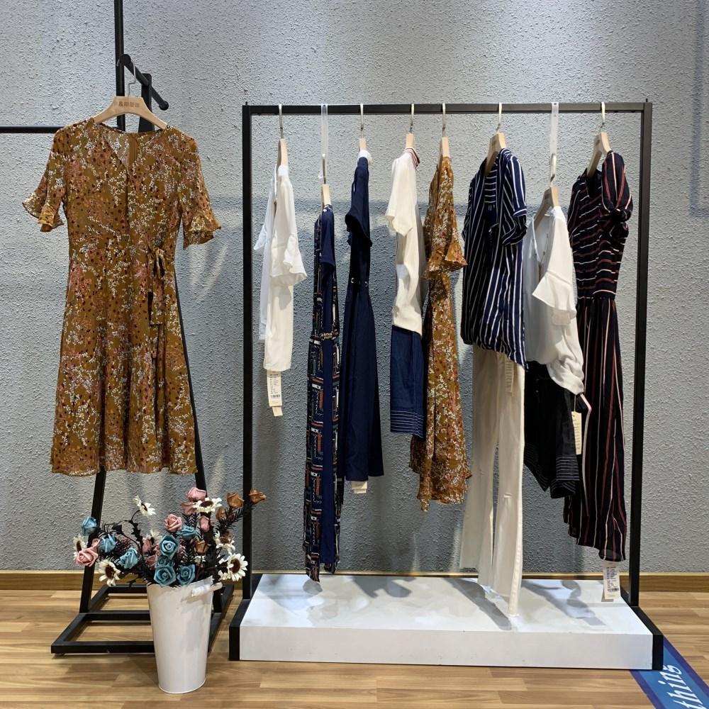 艾米紫萱品牌2019夏季女装一手货源走份