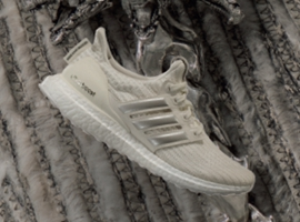 阿迪达斯与?#24230;?#21147;的游戏》合作,推出限量款UltraBOOST联名跑鞋
