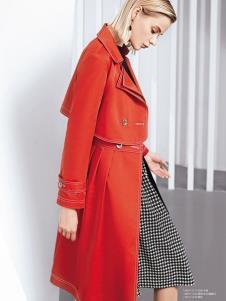 ONE ONLY红色外套