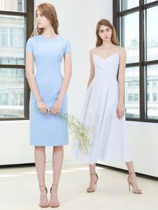 imi艾米女装19新款连衣裙