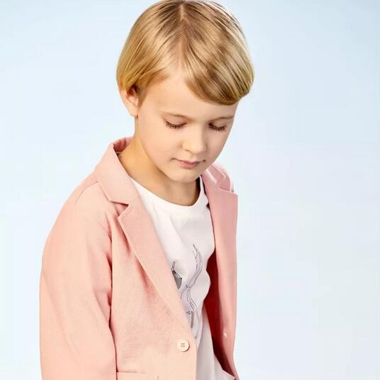 sunroo阳光鼠:粉色当道 男童穿浅粉有多鲜?