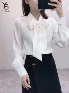 雨珊女装白色衬衫
