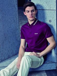 2019老爺車男裝紫色POLO衫
