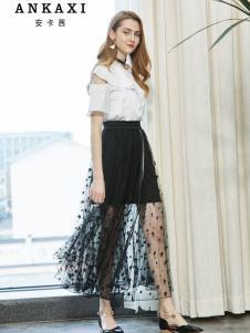 2019安卡茜女装黑色半裙
