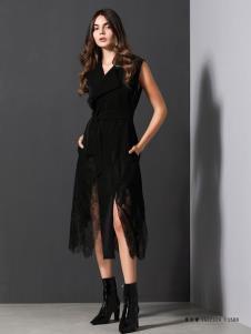 VENSSTNOR(维斯提诺)黑色连衣裙