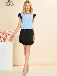 迪丝爱尔女装19简约时尚套装