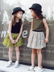 Apple Orange女童时尚裙装