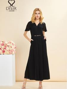 迪丝爱尔女装19优雅小黑裙