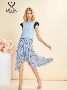 迪丝爱尔女装19新款时尚半裙