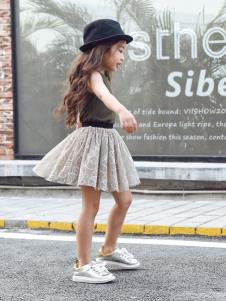 Apple Orange轻潮童装女童时尚半裙