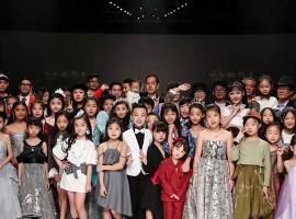 广东时装周丨新秀王童装联合大秀,开启时尚创意新模式