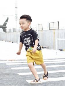 Apple Orange男童夏个性套装