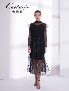 卡地亚中高端女装黑色蕾丝裙