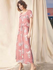 SIEGO西蔻19时髦复古印花裙