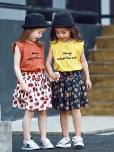 Apple Orange女童夏款套装